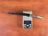 Биметалический нож КР ( серебряная рукоять) photo 12
