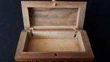 Шкатулка деревянная., фото №4