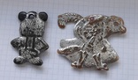 Мишка и кот в сапогах . елочные игрушки ?, фото №3