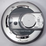 Новый кассетный плеер с FM радио в заводской упаковке.