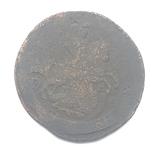 2 коп 1766 г ММ перечекан с «барабанов».