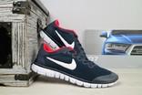 Мужские кроссовки Nike Free Run 3.0 Синий/Красный 10817 Размер 44