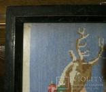Картина.Девушка и олененок., фото №8