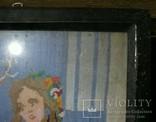 Картина.Девушка и олененок., фото №9