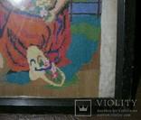 Картина.Девушка и олененок., фото №10