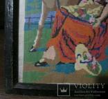 Картина.Девушка и олененок., фото №11