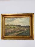 Старинная картина 1888 года с подписью автора