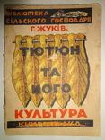 1924 Табак в Украине