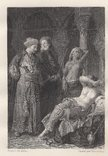 Покупка рабынь гравюра 1860-1870-е