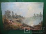Картина Утрений туман, фото №3