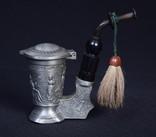 Коллекционная Трубка Рюмка Freiling Zinn Германия photo 1