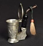 Коллекционная Трубка Рюмка Freiling Zinn Германия photo 4
