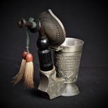 Коллекционная Трубка Рюмка Freiling Zinn Германия photo 8
