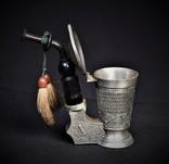 Коллекционная Трубка Рюмка Freiling Zinn Германия photo 9