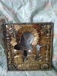 Старинный Серебрянный Оклад. Под Икону Б. М. Ахтырская. photo 1