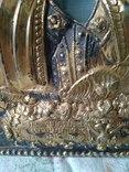 Старинный Серебрянный Оклад. Под Икону Б. М. Ахтырская. photo 6