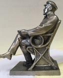 Статуэтка Ленин в кресле photo 4