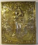 Икона. Матерь Божья. В серебряном окладе. photo 1