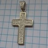 Крест 925 пробы, фото №3