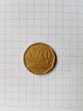 ЮАР, 50 центов 1992 год. N248, фото №2