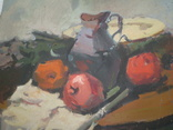 """Натюрморт с яблоками"".  Михайло Довгань., фото 3"