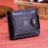 Портмоне 100$ із магнітною застібкою,( чорн.) photo 1