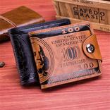 Портмоне 100$ із магнітною застібкою,( чорн.) photo 2