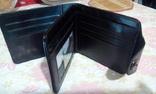 Портмоне 100$ із магнітною застібкою,( чорн.) photo 4