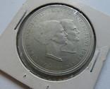 Дания 10 крон 1967 год серебро, фото №2