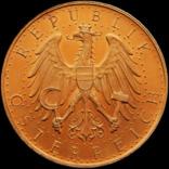 100 шилінгів 1927 року, Австрія. Штемпельна. Золото 23,54 г photo 1
