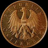 100 шилінгів 1927 року, Австрія. Штемпельна. Золото 23,54 г photo 4