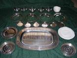 Большой столовый, десертный сервиз (4 кг 670г) photo 1