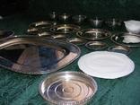 Большой столовый, десертный сервиз (4 кг 670г) photo 3