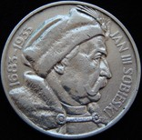 10 злотих 1933 року, Ян ІІІ Собеський, срібло