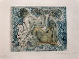 "Генриетта Левицкая, графика ""Девы"", 1974г. photo 1"