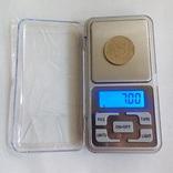 Карманные ювелирные весы до 200 гр (шаг 0,01гр) photo 2