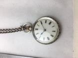 Часы дамские серебро. photo 3