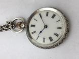 Часы дамские серебро. photo 4