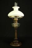 Старая керосиновая лампа. Акционерное об-во Брюннер, Шнейдер и Дитмар. Варшава (0036) photo 1