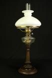 Старая керосиновая лампа. Акционерное об-во Брюннер, Шнейдер и Дитмар. Варшава (0036) photo 2
