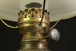 Старая керосиновая лампа. Акционерное об-во Брюннер, Шнейдер и Дитмар. Варшава (0036) photo 3