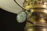 Старая керосиновая лампа. Акционерное об-во Брюннер, Шнейдер и Дитмар. Варшава (0036) photo 4