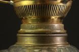 Старая керосиновая лампа. Акционерное об-во Брюннер, Шнейдер и Дитмар. Варшава (0036) photo 8