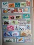 Альбом разных марок 667шт