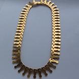 Золотое колье ручной работы. Золото 750 пробы 48.33 грамм photo 4