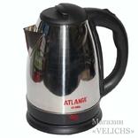 Электрочайник дисковый ATLANFA AT-H01 2200 Вт 2 photo 2