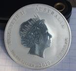 1-Один Доллар 1910 г. Серебро Год Тигра Унция