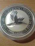 Полет кукабарры Австралия Пруфф 155.5 грмм. чистого серебра