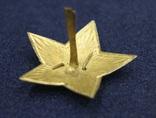 Звезда на головной убор для комначсостава обр.1936 г., 38 мм photo 3