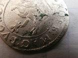 Грош Ян Казимір 1652р.Вільно з гербом Гоздава.R-2 photo 5